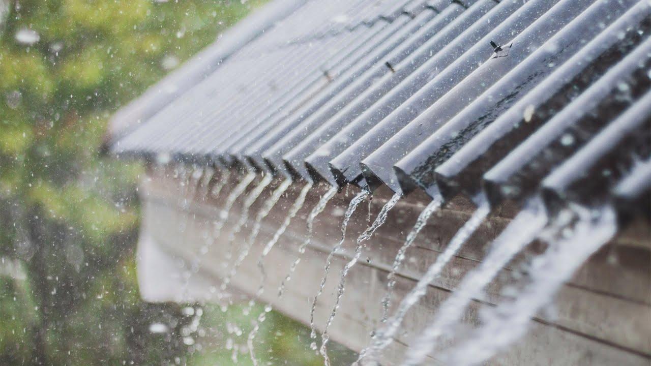 Resultado de imagem para chuva na telha