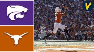 #16 Kansas State  vs Texas Highlights | Week 11 | College Football 2019