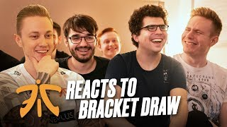FNATIC Reacts to Bracket Draw | Worlds 2019