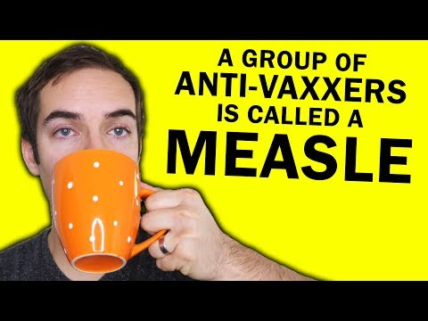 A group of anti-vaxxers is called a measle (YIAY #471)