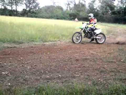 Kawasaki Kx 125 Vs Honda Cr 125 Youtube