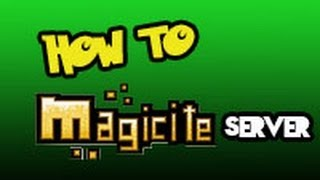 HOW TO HOST SERVERS FOR INDIE GAMES LIKE ROGUELANDS AND MAGICITE!! :D