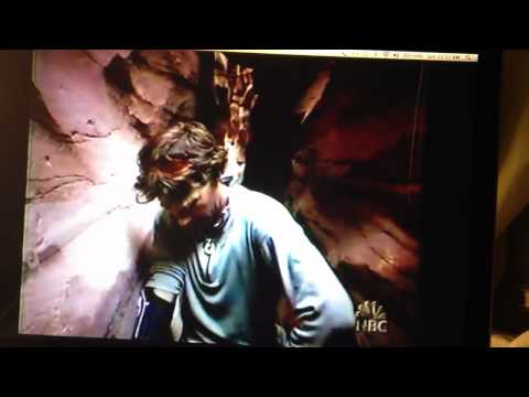 Aron Ralston explains how he cut off his arm