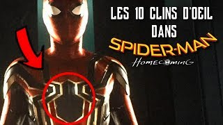 LES 10 CLINS D'ŒIL DANS SPIDER-MAN HOMECOMING + SCENES POST-GENERIQUE !