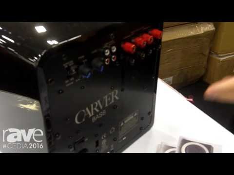 CEDIA 2016: Carver Intros BAS8 and BAS8.2 Subwoofers