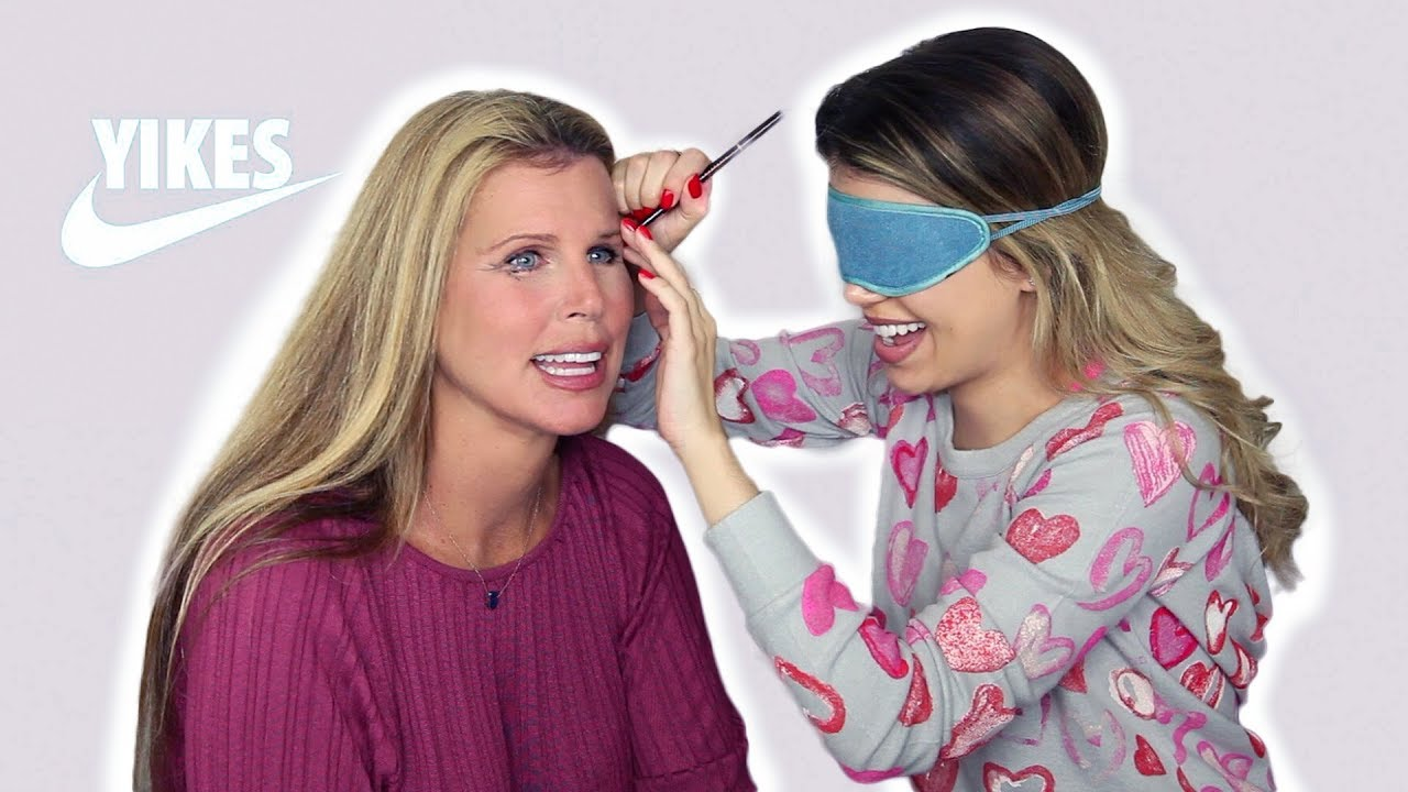 my-mom-and-i-do-each-other-s-makeup-blindfolded