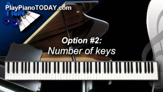 Piano Lessons: What kind of keyboard should I buy?