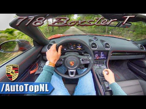 NEW! Porsche 718 Boxster T POV Test Drive By AutoTopNL
