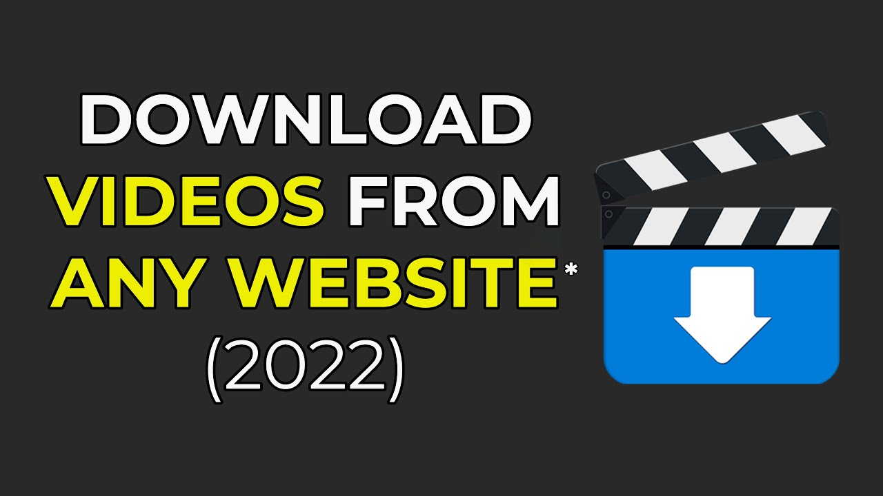 Download How To Download Any Video From Any Site On PC (2021)