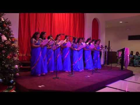 2014 Ecumenical Christmas Austin Texas - St Alphonsa Church Group Song