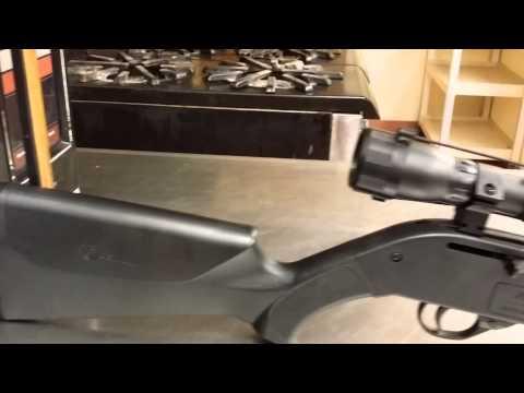 Crossman 760 pumpmaster scope mod - YouTube