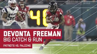 Devonta Freeman Big Catch & Run! | Patriots vs. Falcons | Super Bowl LI Highlights