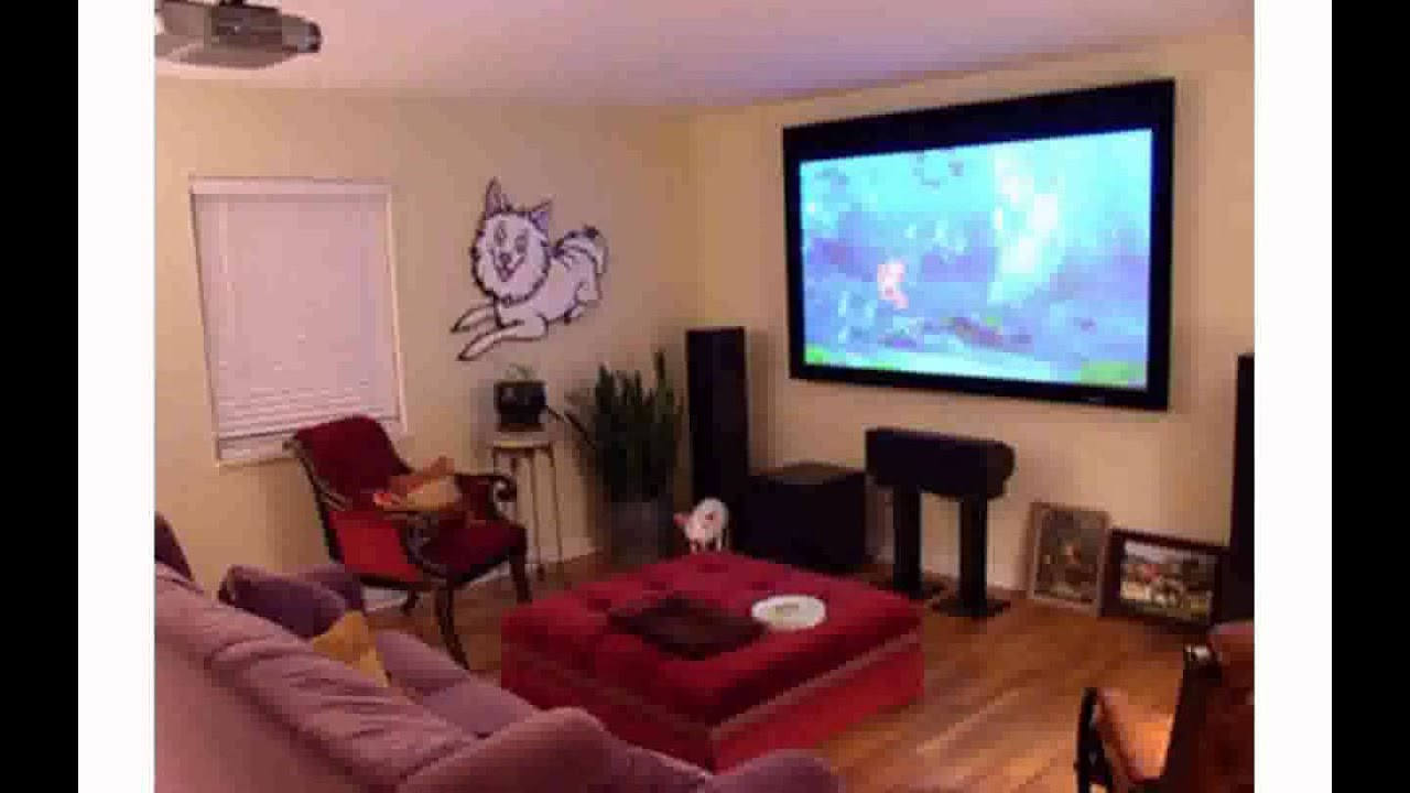 Theatre Room Furniture Living Room Theater Youtube
