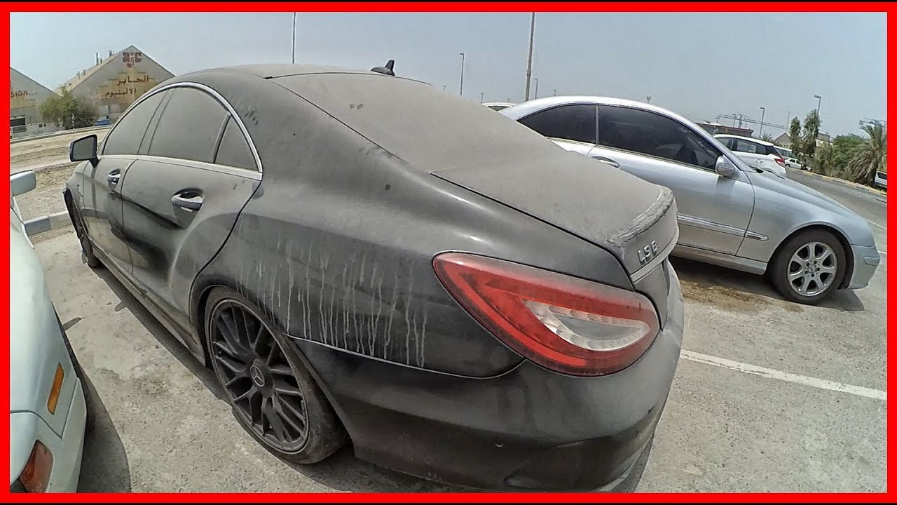 Abandoned Cars In Dubai >> Abandoned Mercedes-Benz CLS 63 AMG Biturbo. Abandoned ...
