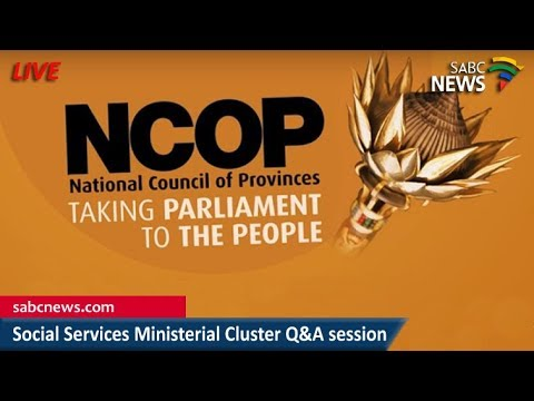 Social Services Ministerial cluster at the NCOP, 17 April 2018