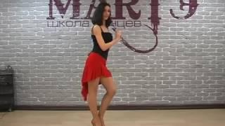Сальса  Как научиться быстро танцевать сальсу Урок Алеси