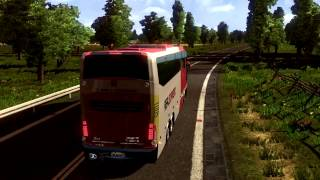 Euro Truck Simulator 2 Bus trip to Meknes with Marcopolo G7 1600 part1