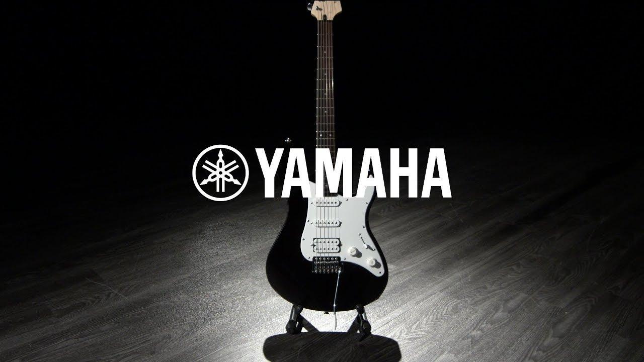 Yamaha Pacifica 012 Black Gear4music Demo Youtube
