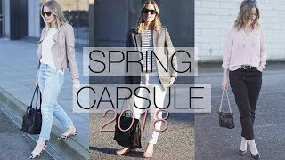 Spring capsule wardrobe | Part 2: haul & lookbook
