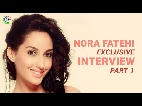 Exclusive Interview of Nora Fatehi with Bollywoodnazar PART 1