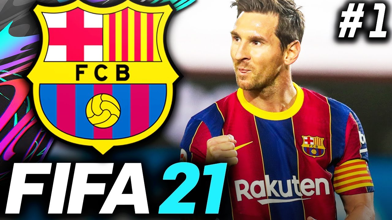 FIFA 21 Barcelona Career Mode EP1 - A NEW ERA BEGINS!!