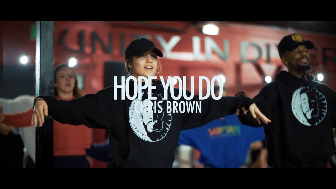 Chris Brown - Hope You Do | Taiwan Williams |