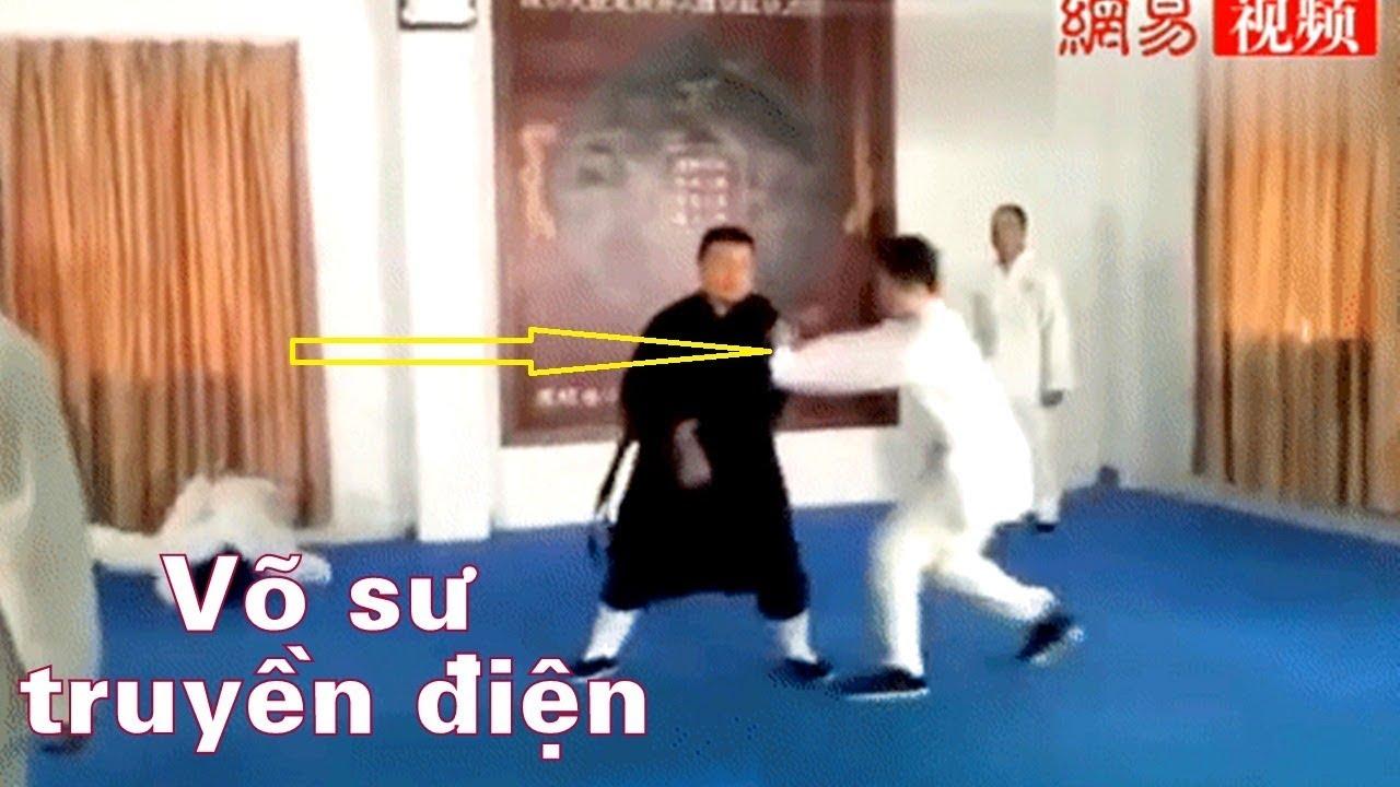 Lại 1 võ sư truyền điện Trung Quốc thích thể hiện và cái kết