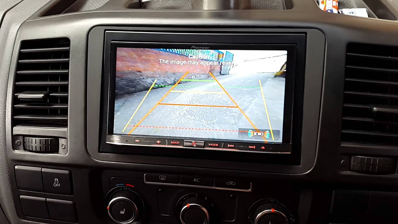 Vw Transporter T5 Stereo Wiring Diagram Of Our Solar System Camper Van Double Din Install Sub 43amp