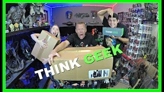 THINK GEEK Sent us a PR BOX | Guru Reviews