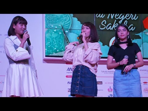 Haruka Nakagawa & JKT48@Japan Travel Fair_Mall KotaKasablanka_10032018