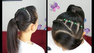 diadema trenza banditas braid elastics headband   peinados cabello corto   peinados faciles