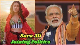 Is Sara Ali Khan Joining Politics
