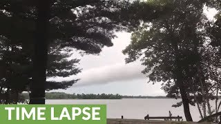 Time lapse captures variety of tumultuous weather