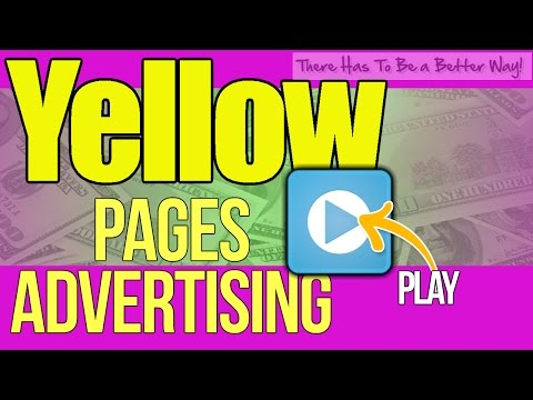 Yellow Pages Advertising & Phone Book Residential Advertising