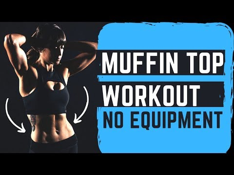 Muffin Top Workout | 8 Minute Oblique Burner