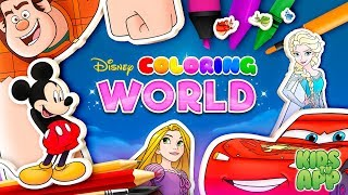 Disney Coloring World (StoryToys Entertainment Limited) - Best App For Kids