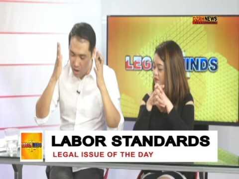 LEGAL MINDS: LABOR STANDARDS
