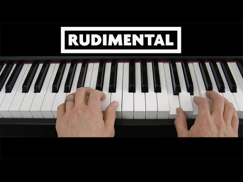 5 Minute Riff: These Days (Rudimental) Piano Keyboard Tutorial