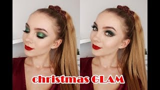 Christmas Glam MAKEUP LOOK 🎄💄 | Lastdream