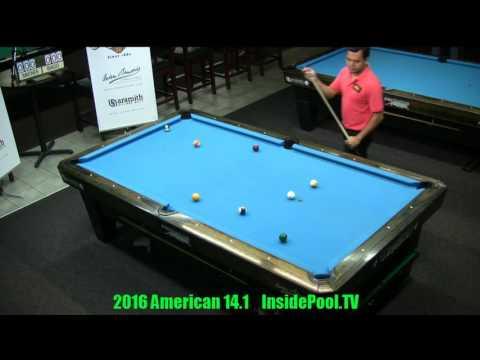 2016 American 14 1 Tournament Carlo Biado vs Mika Immonen