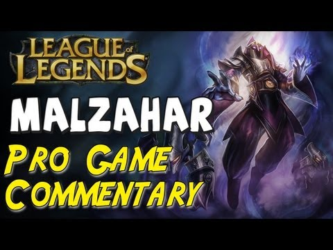 League of Legends - Pro Game Commentary #8 - Bigfatjiji Malzahar