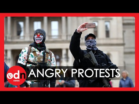 Angry Anti-Lockdown Protests Erupt Around the World
