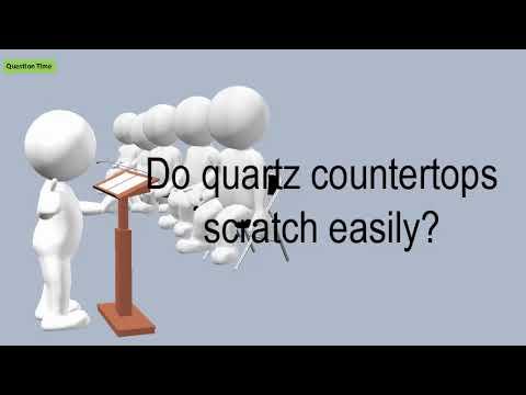 Do Quartz Countertops Scratch Easily?