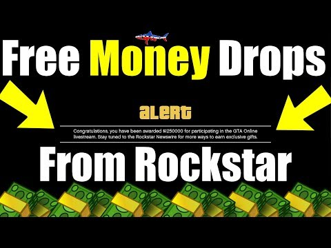 *NEW* HOW TO GET FREE MONEY FROM ROCKSTAR GAMES GTA 5 ONLINE