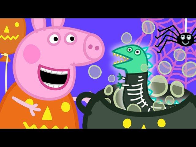 Peppa Pig Français 🎃 Se Déguiser: Sorcières Et Dinosaures 🎃 Spécial Halloween | Dessin Animé