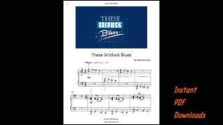 Video Blues Piano (Pdf) | These Gridlock Blues download MP3, 3GP, MP4, WEBM, AVI, FLV Agustus 2018