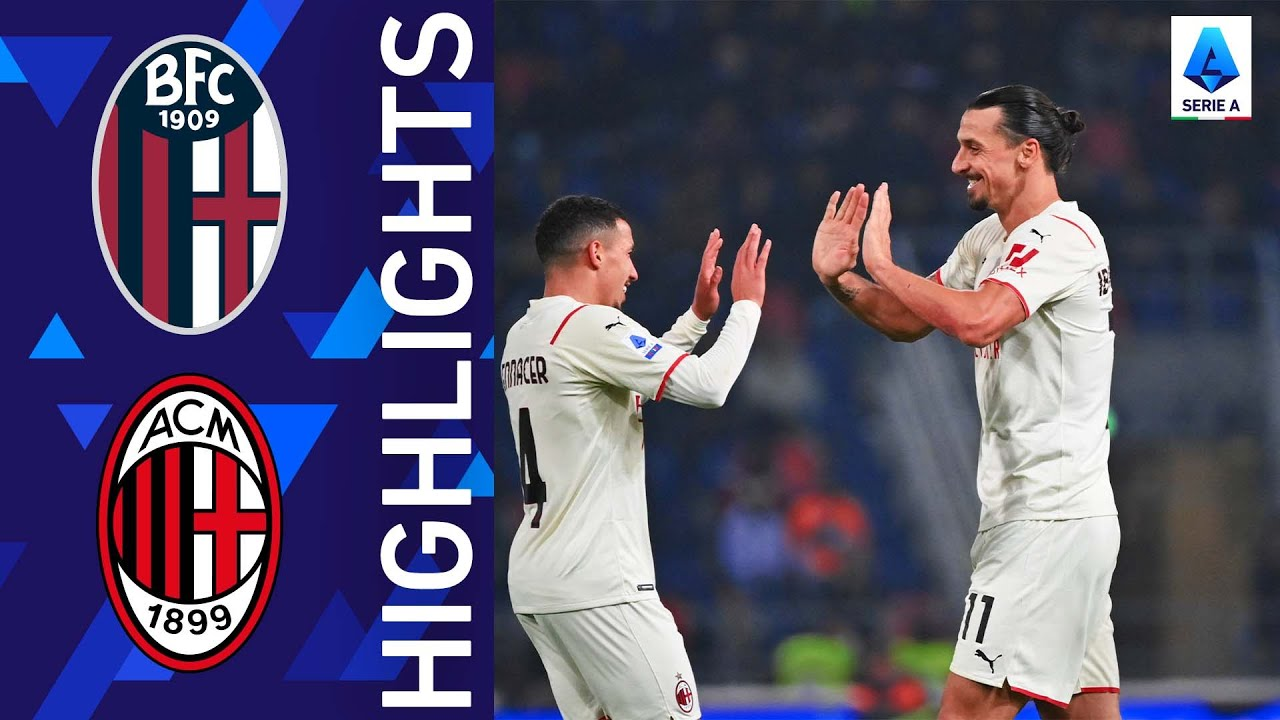 Download Bologna 2-4 Milan | A last gasp victory for Milan | Serie A 2021/22
