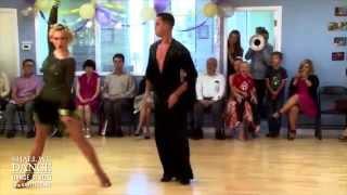 Samba Show Dance by Kristina Kulikova and Jesse Valvassori