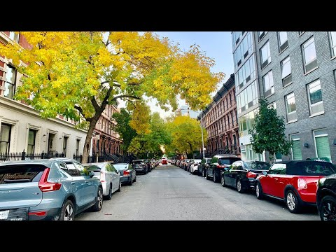 ⁴ᴷ⁶⁰ Relaxing New York City Walk in the Fall