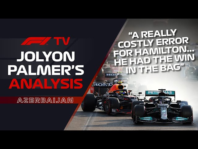 What Caused Hamilton's Baku Run Off?   Jolyon Palmer's F1 TV Analysis   2021 Azerbaijan Grand Prix